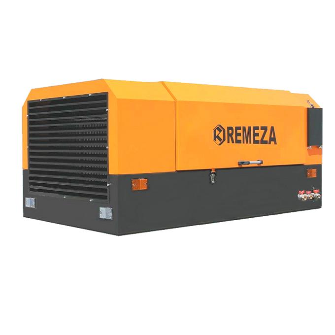 Передвижной компрессор Remeza ДК-4/10РД на раме